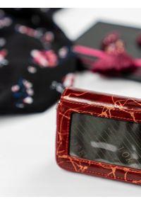 LORENTI - Skórzana portmonetka damska czerwona Lorenti 5157. Kolor: czerwony. Materiał: skóra