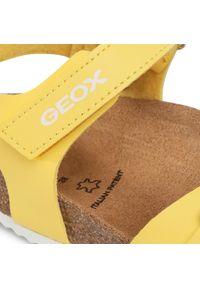 Żółte sandały Geox