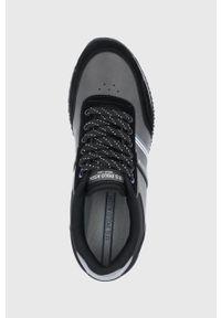 U.S. Polo Assn. - Buty. Nosek buta: okrągły. Zapięcie: sznurówki. Kolor: czarny. Materiał: guma