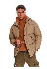TOP SECRET - Pikowana kurtka typu puffer. Kolor: zielony