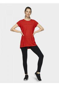 outhorn - T-shirt damski. Materiał: poliester, wiskoza, dzianina, elastan