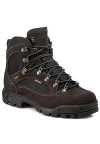 Brązowe buty trekkingowe Aku