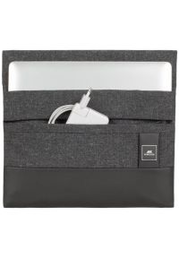 Czarne etui na laptopa RIVACASE w kolorowe wzory