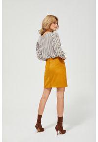 Żółta spódnica MOODO