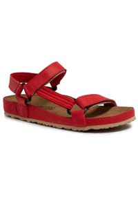 Czerwone sandały Nik