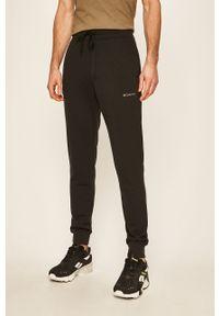 Czarne spodnie dresowe columbia