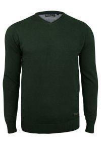 Zielony sweter Brave Soul na spotkanie biznesowe, elegancki