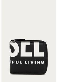 Czarny portfel Diesel