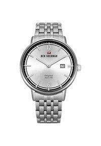 Srebrny zegarek Ben Sherman