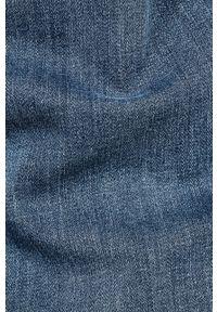 Niebieskie jeansy G-Star RAW w kolorowe wzory