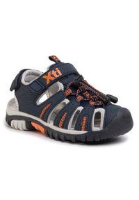 Niebieskie sandały Xti na lato
