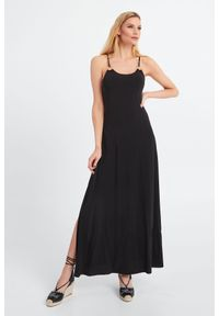 Sukienka Max Mara Beachwear maxi, elegancka, trapezowa