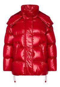 Czerwona kurtka puchowa Sportmax Code #7