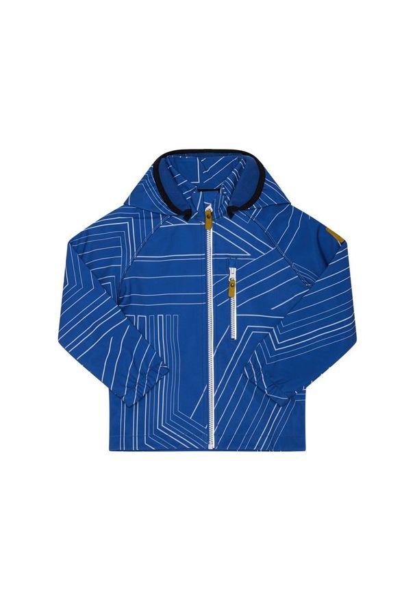 Niebieska kurtka przeciwdeszczowa Reima