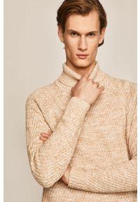 Sweter medicine raglanowy rękaw, melanż
