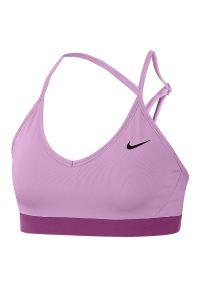 Biustonosz sportowy damski Nike Indy 878614. Materiał: materiał, poliester, skóra. Technologia: Dri-Fit (Nike). Sport: fitness