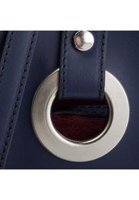 Niebieska torebka klasyczna Creole klasyczna