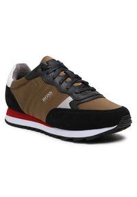 BOSS - Boss Sneakersy Parkour 50445688 10232529 01 Zielony. Kolor: zielony