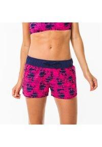 OLAIAN - Szorty Surfing Tini Wako Damskie. Kolor: różowy. Materiał: elastan, poliester, materiał. Długość: krótkie
