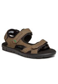 Zielone sandały Nik na lato