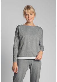 Szara piżama MOE w koronkowe wzory