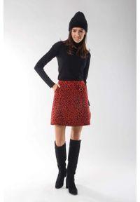 Czerwona spódnica mini Nommo