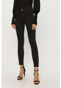 Czarne jeansy Morgan