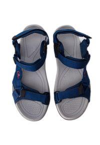 Niebieskie sandały trekkingowe CMP na lato