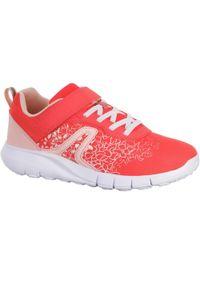 NEWFEEL - Buty do chodzenia dla dzieci Newfeel Soft 140. Zapięcie: rzepy. Kolor: różowy. Sport: turystyka piesza