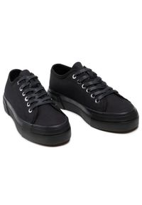 vagabond - Tenisówki VAGABOND - Teddie W 5125-080-92 Black/Black. Okazja: na co dzień. Kolor: czarny. Materiał: materiał. Szerokość cholewki: normalna. Styl: casual