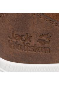 Brązowe buty zimowe Jack Wolfskin