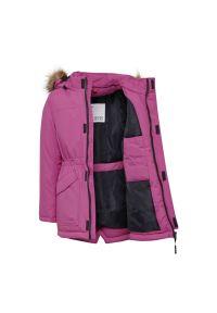 Różowa kurtka zimowa LEGO Wear