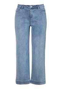 Niebieskie jeansy Cellbes do kostek, klasyczne