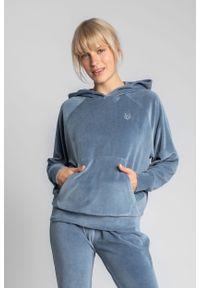 Niebieska piżama MOE