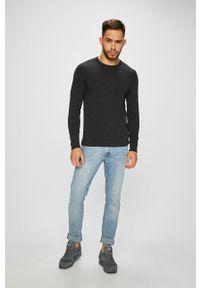 Szary sweter Jack & Jones na co dzień, casualowy #4