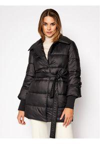 Czarna kurtka zimowa Trussardi Jeans