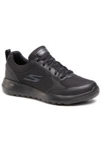 Czarne sneakersy skechers z cholewką