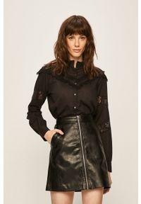 Czarna koszula Vero Moda casualowa, długa