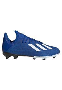 Adidas - Buty piłkarskie korki adidas X 19.3 FG EF7152. Zapięcie: sznurówki. Materiał: syntetyk, materiał. Szerokość cholewki: normalna. Sport: piłka nożna