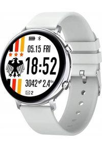 Smartwatch Bakeeley GW33 Biały. Rodzaj zegarka: smartwatch. Kolor: biały
