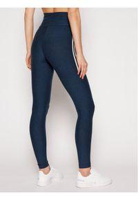Adidas - adidas Legginsy Fakten Tights GN4400 Granatowy Slim Fit. Kolor: niebieski #5