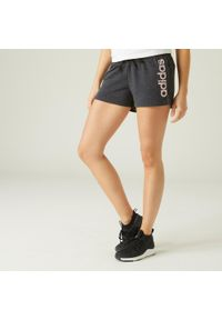 Spodenki do fitnessu Adidas z nadrukiem