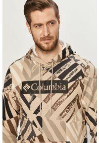 Bluza nierozpinana columbia casualowa, na co dzień, z kapturem