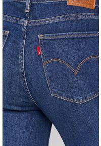 Levi's® - Levi's - Jeansy 724. Okazja: na spotkanie biznesowe. Stan: podwyższony. Kolor: niebieski. Styl: biznesowy