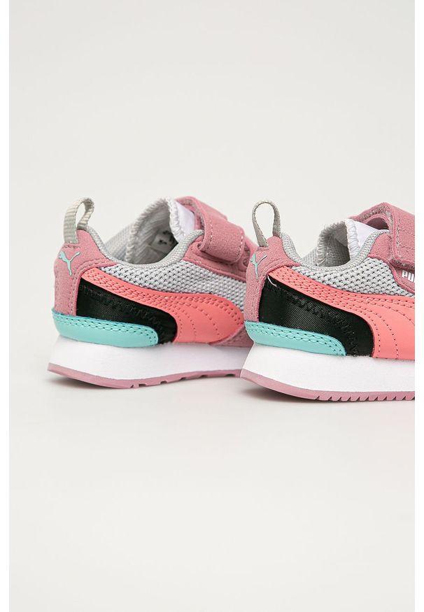 Wielokolorowe buty sportowe Puma z cholewką, na rzepy