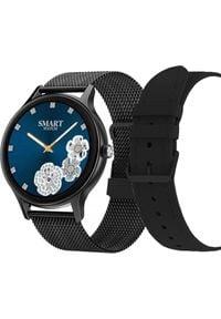 Smartwatch Pacific 18-3 Czarny (PACIFIC 18-3 black+black). Rodzaj zegarka: smartwatch. Kolor: czarny