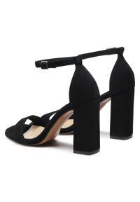 Czarne sandały Maccioni