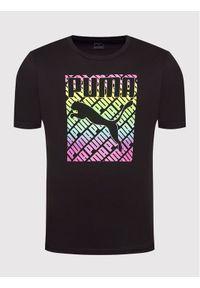 Puma T-Shirt Pride 587777 Czarny Regular Fit. Kolor: czarny