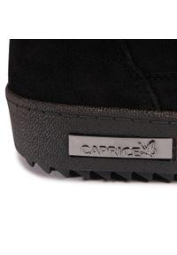 Czarne botki Caprice z cholewką