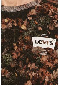 Levi's® - Levi's - Bluza. Okazja: na spotkanie biznesowe, na co dzień. Kolor: brązowy. Materiał: dzianina. Styl: casual, biznesowy